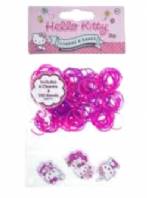 Hello Kitty loom band bracelet and charms kit (Code 3544)